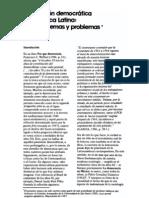 CUEVA, Agustín. La questión democrática en América Latina algunos temas y problemas