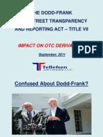 Dodd-Frank Act Impact on OTC Derivatives 0823