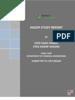 HAZOP Study (part I)