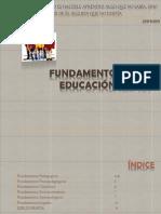 Fundamentos de La Educacin Inicial