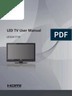 LE32A1710 User Manual