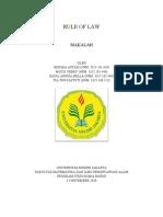 PKN - Makalah - Rule of Law