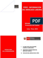 Mercado Laboral Peru