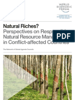Natural riches? Perspectives on responsible natural resource management in conflict-affected countries