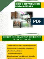 Localización y distribución de instalaciones