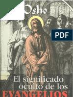 Significado Oculto de Los Evangelios OSHO
