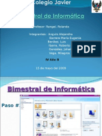 Bimestral de Informatica