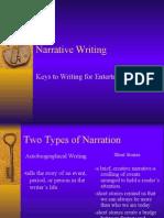 Grade 7 Narrative Writing