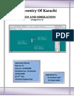 Design & Simulation (Assgn 6)