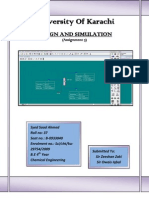 Design & Simulation (Assgn 5)