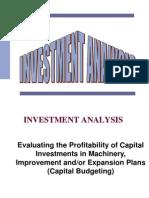Iraq Red One Investment Analysis