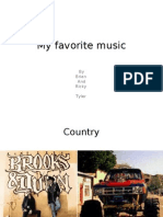 My Favorite Music RL BM TA