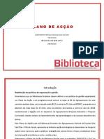 Plano de Acção BEs -2009-2013
