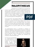 Australopithecus El Firme