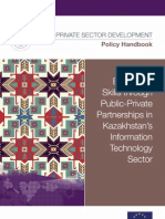 Enhancing Skills Through Public-Private Partnerships in Kazakhstan's Information Technology Sector