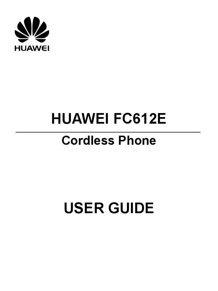 HUAWEI FC612E User Manual%2801%2Cen%2CGeneral Version%29