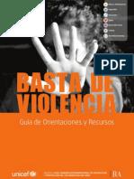 Proteccion Basta de Violencia 2013