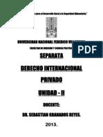 Separata de Internacional Privado- Unidad II-2013