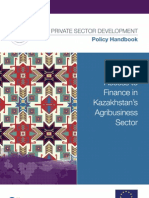 Improving Access to Finance in Kazakhstan's Agribusiness Sector