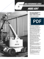 JLG Model 60HT Boom Lifts