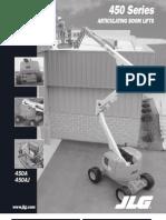 JLG Model 450 Series Articulating Boom Lifts