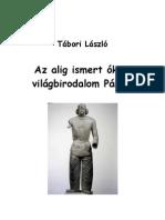 Bálint Aladár: Karl Lamprecht új könyve+