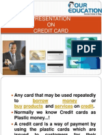 Ppt on Credit Card