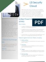 LSI Security Cloud_Data Sheet