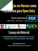 Computação em Nuvem como Plataforma para Open Data