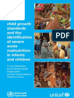 Child Growth Standars and the Identification of Severe Malnutricion in Childs