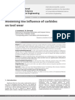 [162] Modelling the Influence of Carbides on Tool Wear
