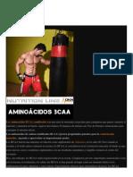 LAS 10 REGLAS DE LOS AMINOÁCIDOS BCAA