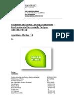 Evironmental Sustainability Design - Paving it Forward Report