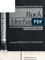 Goodman, R. E. - Introduction to Rock Mechanics, 2nd Edition