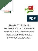 Ley Recuperacion Bienes Segunda Republica