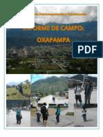 INFORME OXAPAMPA