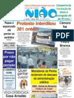 2009.05.14 - Protesto interditou 381 ontem - Jornal Opinião