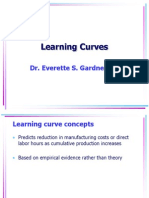 7 Learning Curves