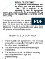 Nature and Kinds of Contracts