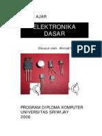BAHAN AJAR Elektronika Dasar