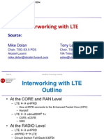LTE-CDMA Interworking