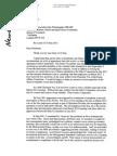 Rupert Murdoch's letter to John Whittingdale