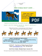 Verrill Farm Stable Boot Camp June09
