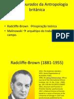 Os Anos Dourados RadcliffeBrown