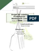 Rapport de Projet Restaurant Lunch Time