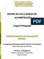 Anos Inic of Portugues