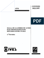 4d Acero Malla Electrosoldada 1022-1997