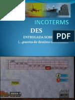 INCOTERMS DES1
