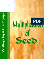 The Multiplication of Seed