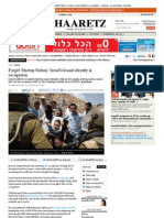 Forget 'Startup Nation,' Israel's Brand Identity is Occupation / Haaretz 18.7.13